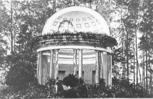 Виды города Гатчины – Павильон Орла в Дворцовом парке, фотография 1896 года.