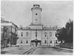 Виды города Гатчины, фотографии 1896 года.