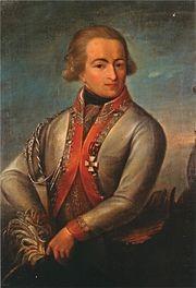 Меншиков Сергей Александрович(1746-1815.) Светлейший князь, русский генерал-поручик, тайный советник из рода Меншиковых. В 1778 году Меншиков назначен флигель-адъютантом.